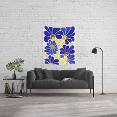 Lotus Rainbow Mandala Wall Tapestry by Elspeth McLean - Small: x Bohemian Wall Tapestry, Blue Tapestry, Mandala Tapestry, Tapestry Wall Hanging, Wall Tapestries, Mandala Art, Tapestry Wallpaper, Hanging Flower Wall, Society 6 Tapestry
