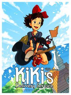 """Kiki's Delivery Service"" by Joshua Budich"