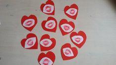 Kusjes pot voor Moederdag! Rode hartjes liefde mama kusjes in glazen potje Kusjespot - design: Mirelle/Crea met kids 2-12jr Silicone Molds, School, Design, Schools