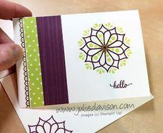 7 Eastern Palace Suite Notecards | Julie's Stamping Spot | Bloglovin'