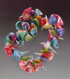Wendy Wallin Malinow, polymer clay.