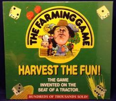 The Farming Game Harvest the Fun! George Rohrbacher Educational Tractor Game