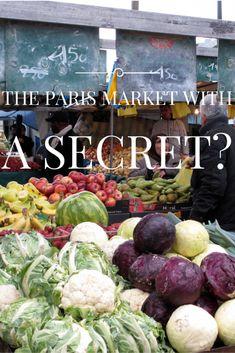 The Marche Barbes in Paris is tourist free, but is it a Paris market with a secret?