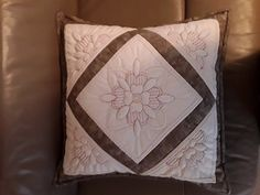 One of our ladies has sent us her lovely finished Wild Rose cushion that she started at the Stitching Getaway in March at Tortworth Court Hotel. Show And Tell, Love Is All, Stitching, March, Cushions, Throw Pillows, Quilts, Rose, Creative