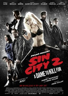Sin City 2 - A Dame to Kill For. #Moive #Film #Review #Kritik #Filmkritik