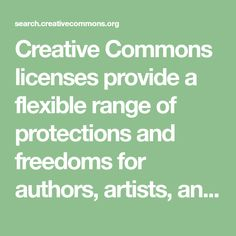 Creative Commons licenses provide a flexible range of protections and freedoms for authors, artists, and educators. School Website Templates, Online Textbook, Stock Photo Sites, Learning Support, Digital Literacy, History Images, Music School, Royalty Free Music, Free Pictures