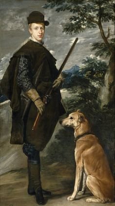 Diego Velazquez - The Cardinal-Infante Ferdinand of Austria as a Hunter. x 108 cm, Oil on canvas, Museo del Prado, Madrid Caravaggio, Anthony Van Dyck, Spanish Painters, Spanish Artists, Rembrandt, Diego Velazquez, Academic Drawing, Baroque Art, Oil Painting Reproductions