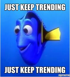 Just Keep Trending...trending trending trending...all you do is just trend trend trend