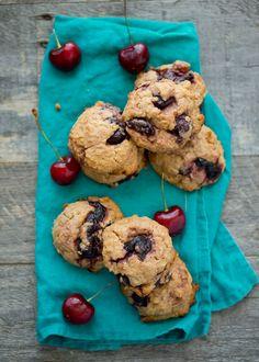 Vegan Cherry Pie Cookies