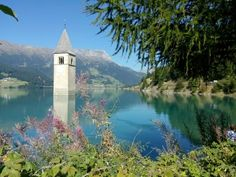 Lago di Resia, il campanile di Curon Venosta
