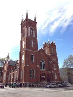 Catholic Shrine of the Immaculate Conception in Atlanta, GA