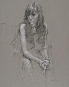 Life Drawing, Drawing Sketches, Pencil Drawings, Art Drawings, Charcoal Drawings, Portrait Sketches, Portrait Art, Portraits, Figure Sketching