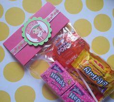 12 Henry hugglemonster goodie bag toppers also by bellecaps