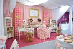 Carousel Birthday Party Ideas | Photo 1 of 35 | Catch My Party