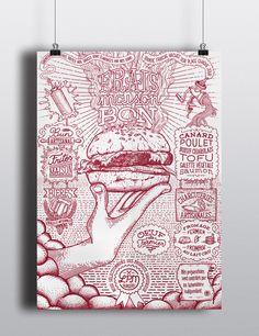 LPM burgers on Behance — Designspiration