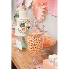 Inspired by This Peach, Pink, and Mint Bridal Shower