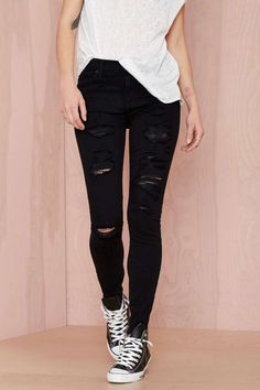 We got the skinny on skinnies: these babies are a must-have in your artillery.