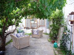 Conservatory by Caro's Lines, via Flickr