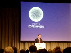 Former US Vice President Al Gore speaks at the Copenhagen climate change conference