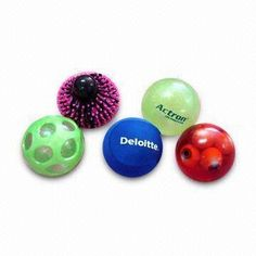 Stress Ball, Various Shapes and Sizes are Available, Made of Nontoxic TPR