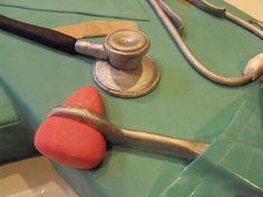 Nurse cake 4 - close up | Nurse cake March 21, 2010 this ENT… | Flickr