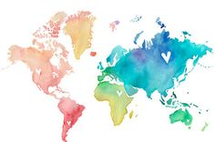 Color my world with love