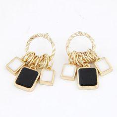 Magnifying Bronze Eye Charm Design Alloy Stud Earrings  http://earrings.asumall.com/