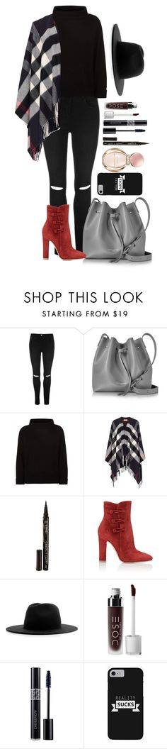 """""""Untitled #1687"""" by fabianarveloc on Polyvore featuring Lancaster, Jaeger, Burberry, Smith & Cult, Gianvito Rossi, Études, Christian Dior and Bulgari"""