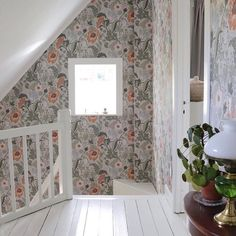 Interior Wallpaper, Granny Chic, Wall Colors, Home Organization, Home Interior Design, Room Inspiration, Beautiful Homes, Sweet Home, New Homes