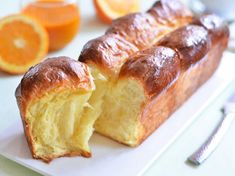 Brioche facile et inratable - The Best Irish Recipes Brioche Dessert Recipe, Croissant Recipe, Köstliche Desserts, Delicious Desserts, Yummy Food, Good Food, Bread Recipes, Snack Recipes, Dessert Recipes