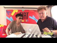 Ultimo - FIAT Music Studio Venezia, Le Zattere 25.06.17 - YouTube Studio, Tv, Youtube, Fictional Characters, Musica, Television Set, Studios, Fantasy Characters, Youtubers