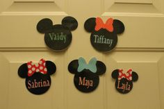 Disney Cruise Door Magnets by TiffanyandGirls on Etsy, $4.00