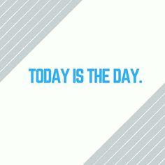Make today count. #MondayMotivation