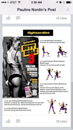 Butt bible workout