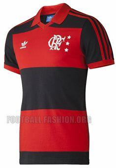 Flamengo 2014 adidas Originals Retro Home Jersey Classic Football Shirts, Football Tops, Football Gear, Retro Football, World Football, Adidas Originals, Football Fashion, Soccer Jerseys, Sports