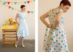 Spring dress to sew