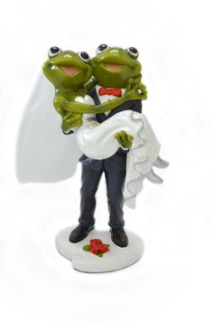 Cheap gift Buy Quality gift best directly from China souvenirs baby shower boy Suppliers: Resin Frog Model Wedding Souvenirs Gifts Unique wedding couple frog figurine design and the t Funny Frogs, Cute Frogs, Animals And Pets, Funny Animals, Frosch Illustration, Creative Wedding Gifts, Garden Frogs, Frog Pictures, Frog Art