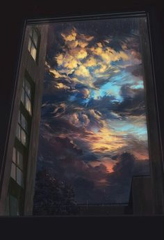 25 New ideas for fantasy art painting sky Art Painting, Art Photography, Painting, Anime Scenery, Aesthetic Wallpapers, Sky Aesthetic, Animation Background, Art Wallpaper, Beautiful Art