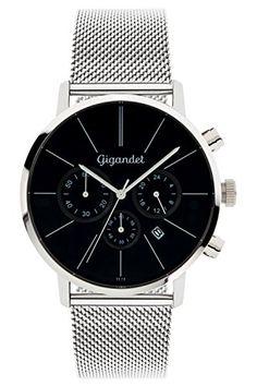 <b>Gigandet Uhren</b><br><br> Die Uhren der Marke Gigandet führen die Tradition schweizer Uhrmacherkunst fort.<br> Gegründet 1925 in Solothurn stieg die Firma Gigandet schnell zu einem führenden Hersteller von Automatikuhren und Chronographen auf.<br> Aus dieser langen Tradition heraus...