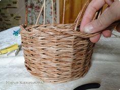 Мастер-класс Поделка изделие Плетение Итальянская загибка мк Кружево Трубочки бумажные фото 19