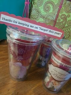 Thanks for keeping me on 'Target' this year! Teacher Gifts!