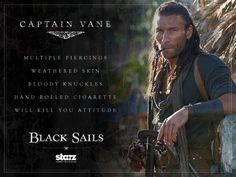 Black Sails ~ Charles Vane ♊️