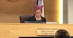 Travis County Judge Sarah Eckhardt brings her politics to work.