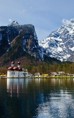 St. Bartholomew's Church ~ Berchtesgaden, Bavaria, Germany | Flickr - Photo by Sergiu Bacioiu