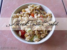 Fit 2 Be...: Greek Pasta Salad