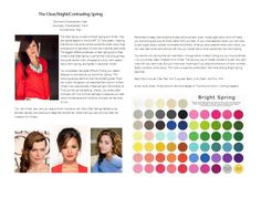 Bright Spring color analysis