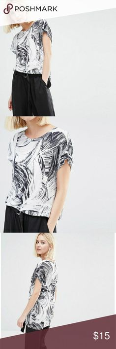 ASOS | Weekday Past Swirl T-shirt New with tags. Bought from ASOS ASOS Tops Tees - Short Sleeve