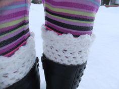 Ravelry: Penelope Punk Kids Boot Cuffs and Fingerless Gloves Crochet Pattern pattern by Lana Schulli