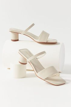 Shop Intentionally Blank Hamp Sandal at Urban Outfitters today. Foto Still, Purple Outfits, Beautiful Sandals, White Boots, W 6, Ankle Straps, Color Trends, Me Too Shoes, Women's Shoes