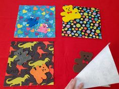 This fun hide and seek flannelboard game is a bedtime storytime favorite! Includes free pattern template! Teddy bear, teddy bear, Where could you be? Are you under the plaid blanket? Let's look and see! Flannel Friday, Bear Theme, Plaid Blanket, Blue Rooms, Early Literacy, Story Time, Cool Patterns, Bedtime, Storytelling